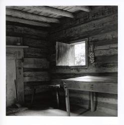 Slave cabin interior, Booker T Washington National Monument