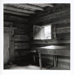 Slave cabin interior, Booker T Washington National Monument