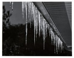 Glowing Icicles